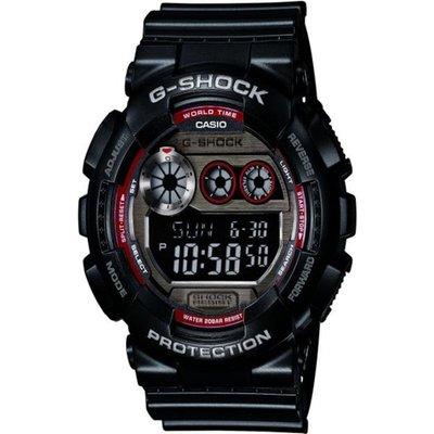 CASIO Casio G-Shock Herrenchronograph in Schwarz GD-120TS-1ER