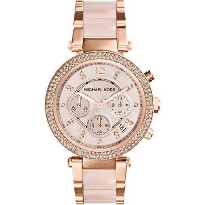 Michael Kors Parker Damenchronograph in Pink MK5896