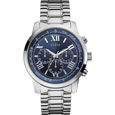 Guess Horizon Herrenchronograph in Silber W0379G3 | GUESS SALE