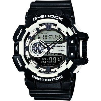 CASIO Casio G-Shock Herrenchronograph in Schwarz GA-400-1AER