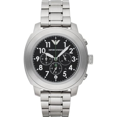 Emporio Armani Herrenchronograph in Silber AR6056