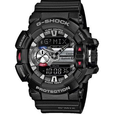 CASIO Casio G-Shock G'MIX Bluetooth Hybrid Smartwatch Herrenchronograph in Schwarz GBA-400-1AER