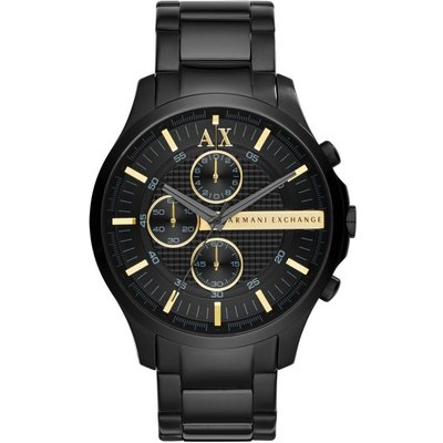 Armani Exchange Herrenchronograph in Schwarz AX2164