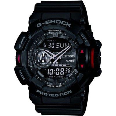 CASIO Casio G-Shock Herrenchronograph in Schwarz GA-400-1BER