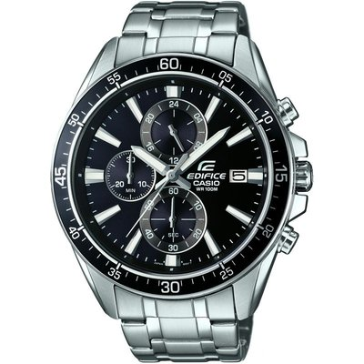 Casio Edifice Herrenchronograph in Silber EFR-546D-1AVUEF