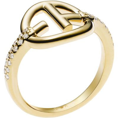 Emporio Armani Size P Kristall Ring Sterling-Silber EG3199710508