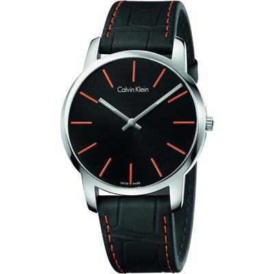 Calvin Klein City Herrenuhr in Schwarz K2G211C1
