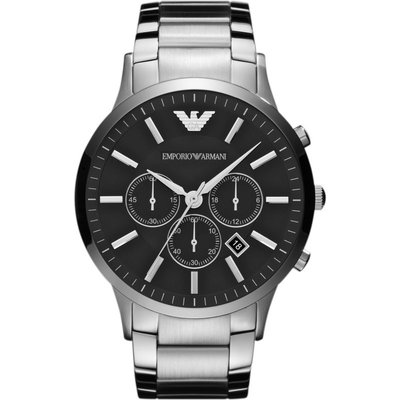 Emporio Armani Herrenchronograph in Silber AR2460