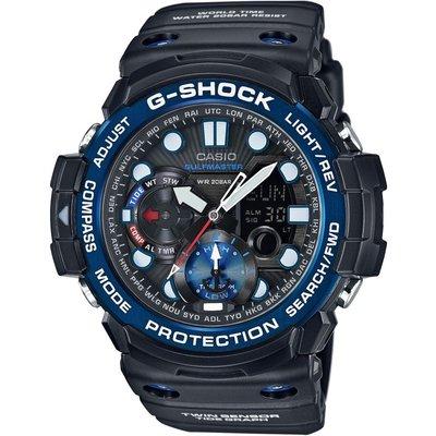 CASIO Casio G-Shock Gulfmaster Herrenchronograph in Schwarz GN-1000B-1AER