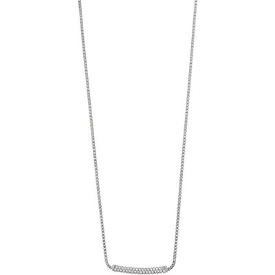 Emporio Armani Pure Pave Halskette Sterling-Silber EG3217040