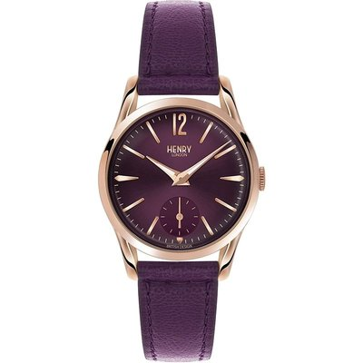 HENRY LONDON Henry London Heritage Hampstead Damenuhr in Lila HL30-US-0076