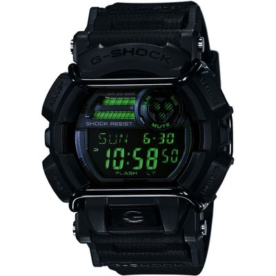 CASIO Casio G-Shock Military Black Herrenchronograph in Schwarz GD-400MB-1ER