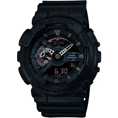 Casio G-Shock Military Black Herrenchronograph in Schwarz GA-110MB-1AER