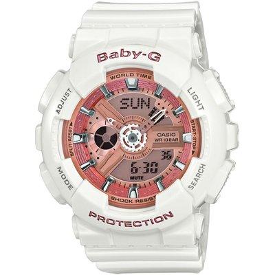 Casio Baby-G Damenchronograph in Weiß BA-110-7A1ER | CASIO SALE