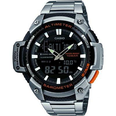 Casio SPORTS GEAR Herrenchronograph in Silber SGW-450HD-1BER