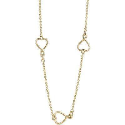 Guess Amour Halskette PVD vergoldet UBN61056 | GUESS SALE