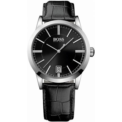 Hugo Boss Success Herrenuhr in Schwarz 1513129