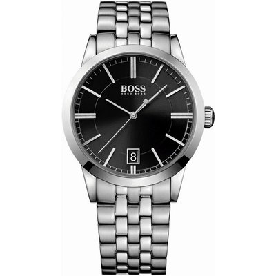 Hugo Boss Success Herrenuhr in Silber 1513133