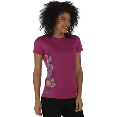 Women's Fingal II T-Shirt Vivid Viola