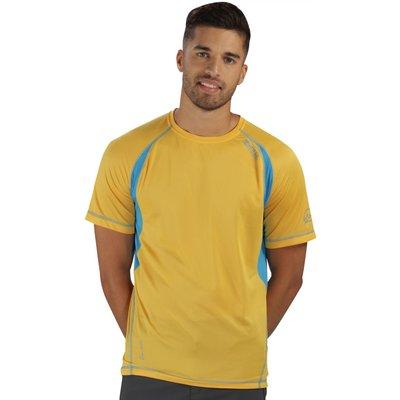 Volito II T-Shirt Gold Hydro Blue