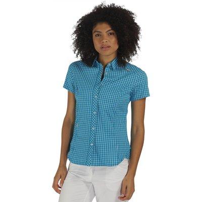 Womens Honshu Shirt Fluro Blue