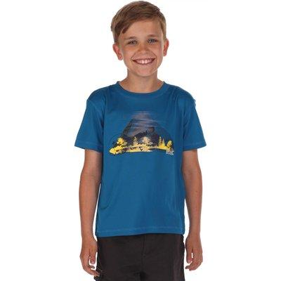 Alvarado T-Shirts Petrol Blue