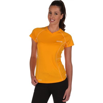 Womens Jenolan T-Shirt Gold Heat