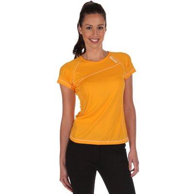 Womens Volito T-Shirts Gold Heat