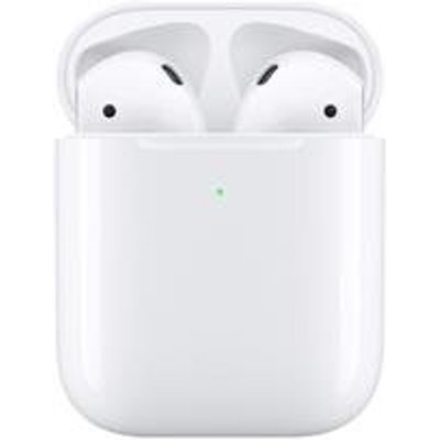 Apple AirPods 2nd Gen Bluetooth Headphones with Wireless Charging Case - 00190198764829