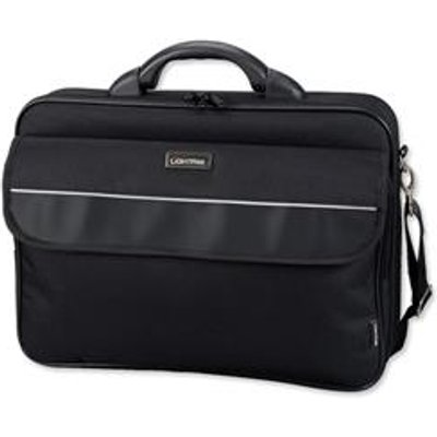 04021068461110 | Lightpak Elite Large Laptop Case Nylon Capacity 17in Black Ref 46111