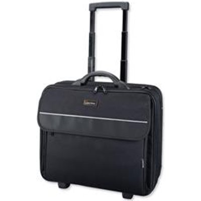 04021068927029 | Lightpak Treviso Laptop Trolley Overnight Nylon Capacity 17in Black Ref 92702