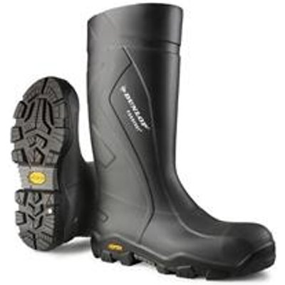 Dunlop Purofort+ Expander Full Safety Boot Charcoal 09 - CC22A3309