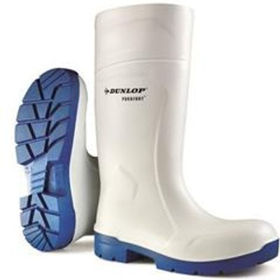 Dunlop Purofort Multigrip Safety Boot White 12 - CA6113112