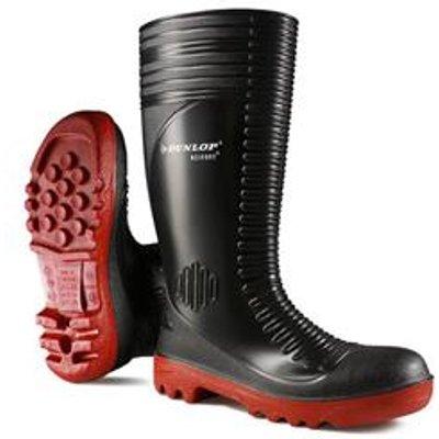 Dunlop Acifort Ribbed Full Safety Wellington Black 10 - A25293110
