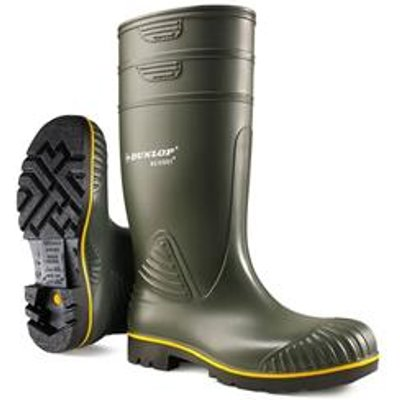 Dunlop Acifort Heavy Duty Green Wellington 06 - B44063106