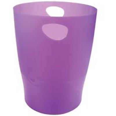 Exacompta Iderama Waste Bin Purple