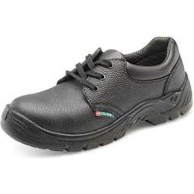 Click Footwear Economy Shoe S1P Black 12 - CDDSMS12