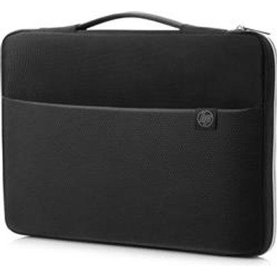 HP 15 notebook case 39 6 cm  15 6  Sleeve case Black Silver - 192545241953