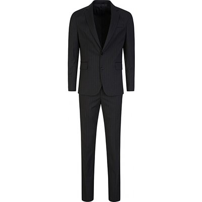 Paul Smith Navy 2-Piece Pinstripe Suit - Size 42
