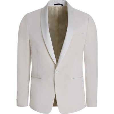 Paul Smith Cream Tailored Evening Blazer - Size 42