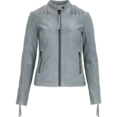 tigha Lederjacke Darla blau (wanted blue)