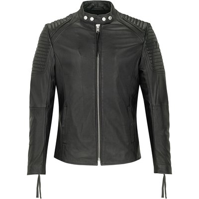 tigha Lederjacke Esteban schwarz (black)