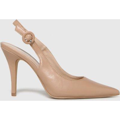 Schuh Natural Sybil Court Shoe High Heels