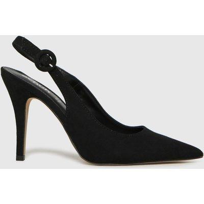 Schuh Black Sybil Court Shoe High Heels