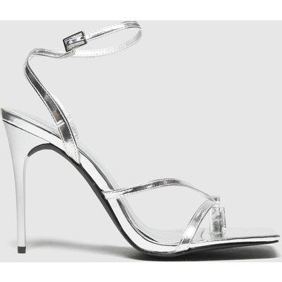 Schuh Silver Seren Heeled Sandal High Heels