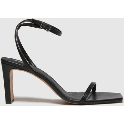 Schuh Black Siobhan Two Part Sandals