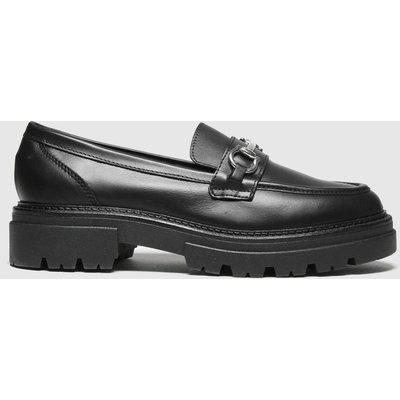 Schuh Black Leemar Snaffle Leather Loafer Flat Shoes