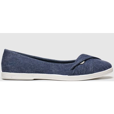 Blowfish Malibu Blue Tizzy Flat Shoes