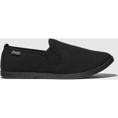Blowfish Malibu Black Gadget Flat Shoes