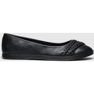 Blowfish Malibu Black Giddie Flat Shoes